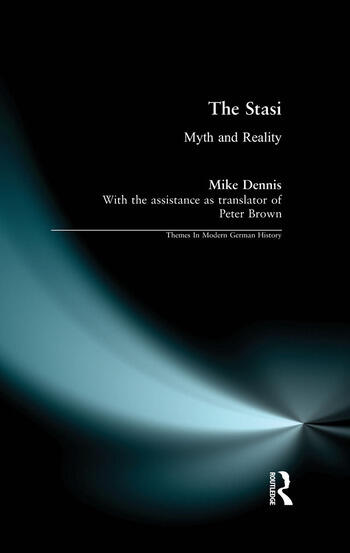 The Stasi Myth and Reality book cover