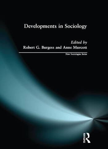 Developments in Sociology book cover