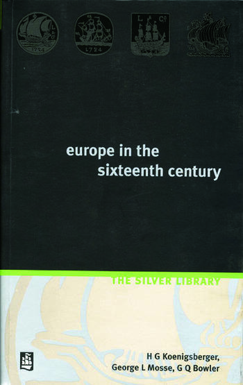Europe in the Sixteenth Century book cover