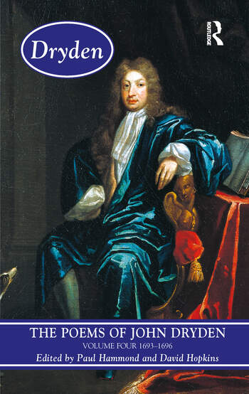 The Poems of John Dryden: Volume Four 1686-1696 book cover
