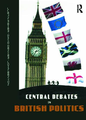 Central Debates in British Politics book cover