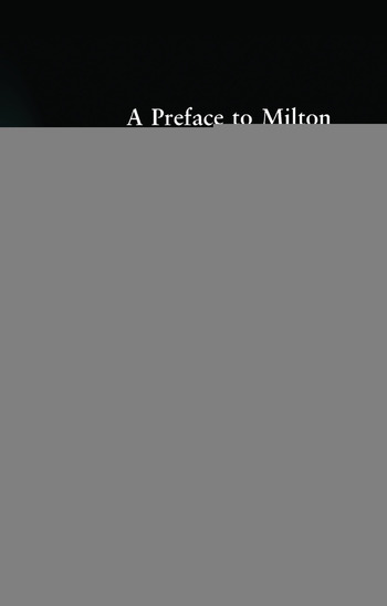 A Preface to Milton Revised Edition book cover