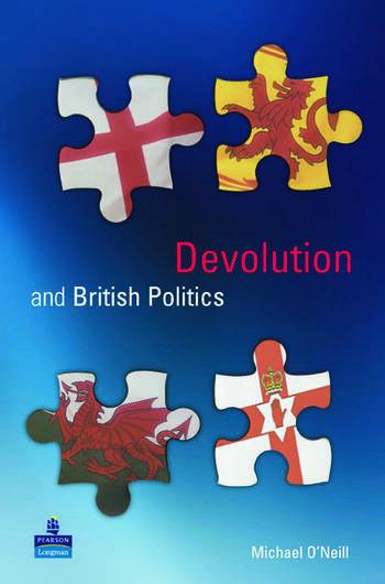Devolution and British Politics book cover