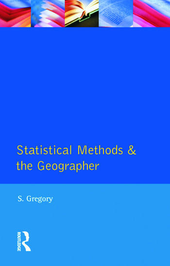 Statistical Methods and the Geographer book cover