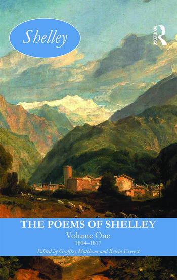 The Poems of Shelley: Volume One 1804-1817 book cover