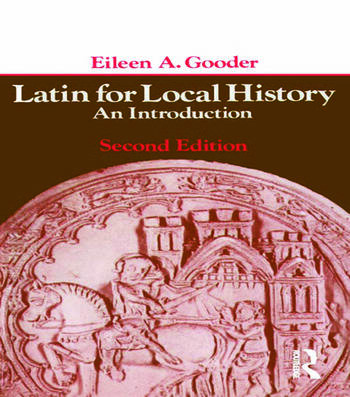 Latin for Local History An Introduction book cover
