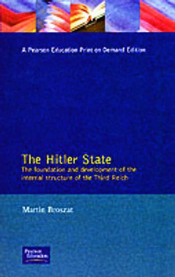 The Hitler State book cover