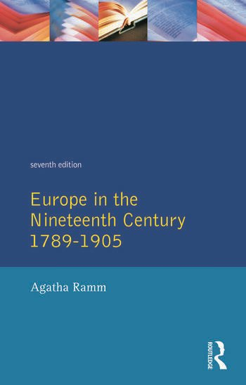 Grant and Temperley's Europe in the Nineteenth Century 1789-1905 book cover