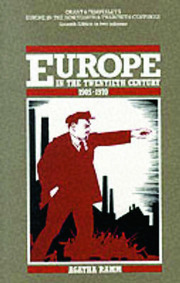 Grant and Temperley's Europe in the Twentieth Century 1905-1970 book cover