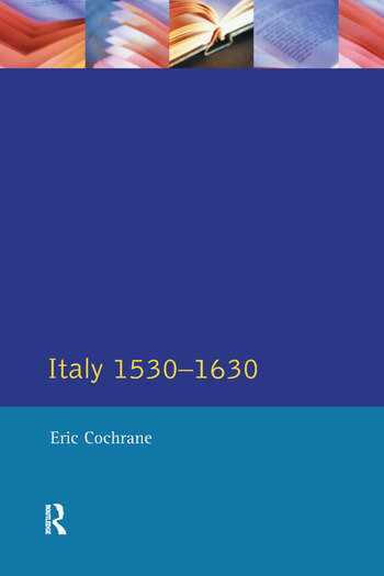 Italy 1530-1630 book cover
