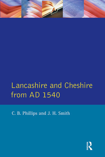 Lancashire and Cheshire from AD1540 book cover