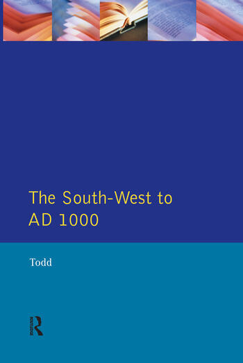 The South West to 1000 AD book cover