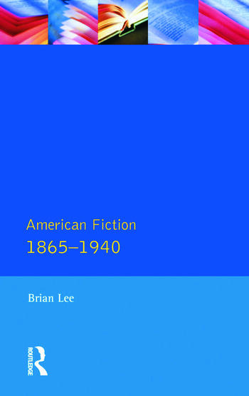 American Fiction 1865 - 1940 book cover