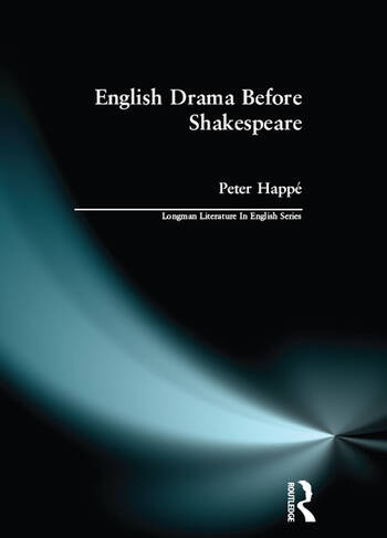 English Drama Before Shakespeare book cover
