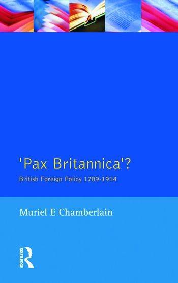Pax Britannica? British Foreign Policy 1789-1914 book cover