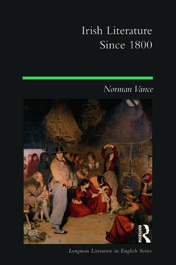 Irish Literature Since 1800 book cover