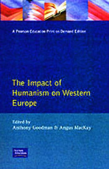 Impact of Humanism on Western Europe During the Renaissance, The book cover