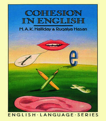 Cohesion in English book cover