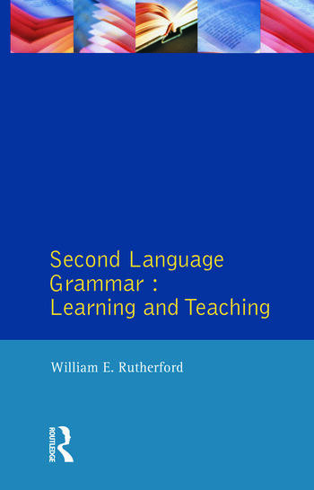 Second Language Grammar Learning and Teaching book cover