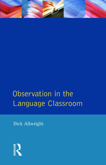 Observation in the Language Classroom book cover