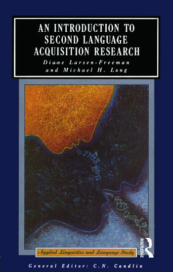 An Introduction to Second Language Acquisition Research book cover
