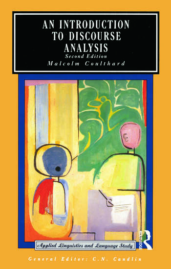 An Introduction to Discourse Analysis book cover