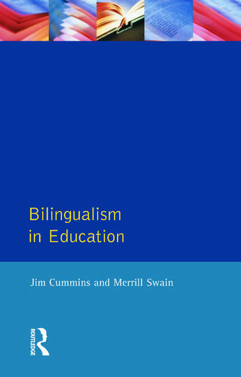 Bilingualism in Education Aspects of theory, research and practice book cover