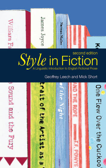 Style in Fiction A Linguistic Introduction to English Fictional Prose book cover