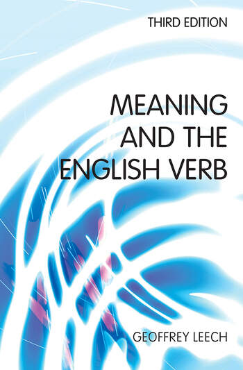 Meaning and the English Verb book cover