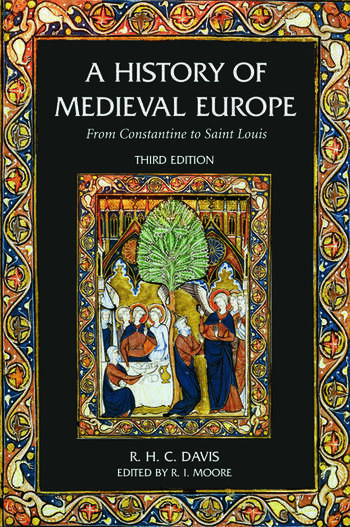 A History of Medieval Europe From Constantine to Saint Louis book cover