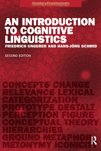 An Introduction to Cognitive Linguistics book cover