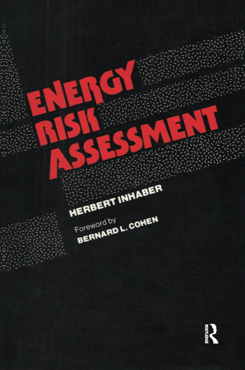Energy Risk Assessment book cover