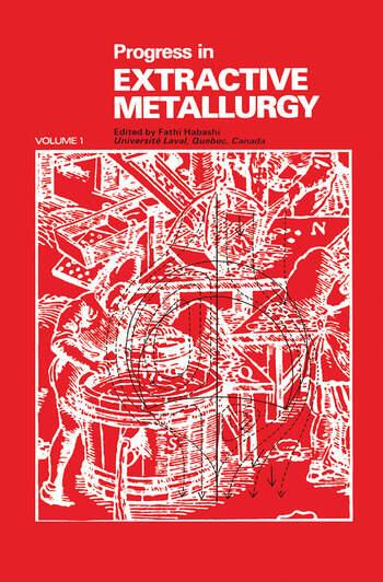 Progress in Extractive Metallurgy: v. 1 book cover