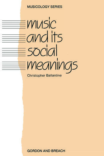 Music and Its Social Meanings book cover
