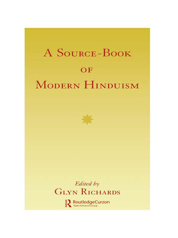 Source Book Modern Hinduism book cover
