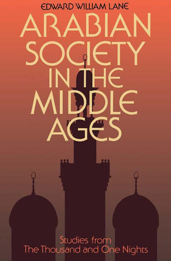 Arabian Society Middle Ages book cover