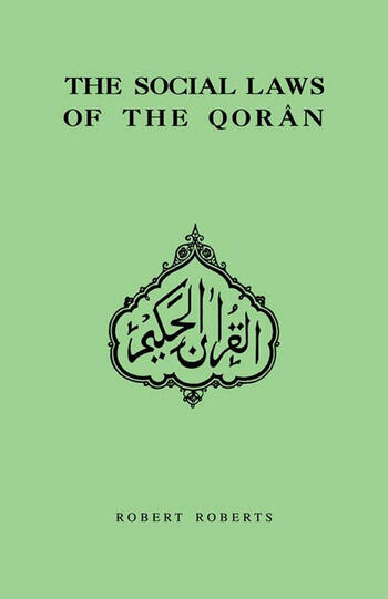Social Laws Of The Qoran book cover