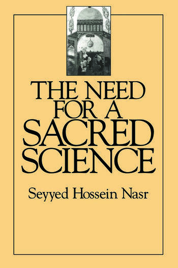 The Need For a Sacred Science book cover