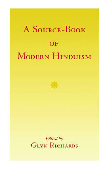 A Source-Book of Modern Hinduism book cover