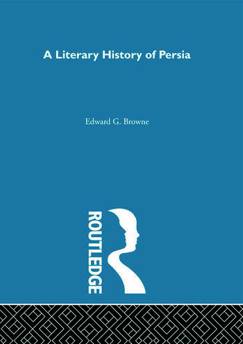 A Literary History of Persia book cover