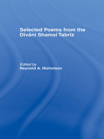 Selected Poems from the Divani Shamsi Tabriz book cover