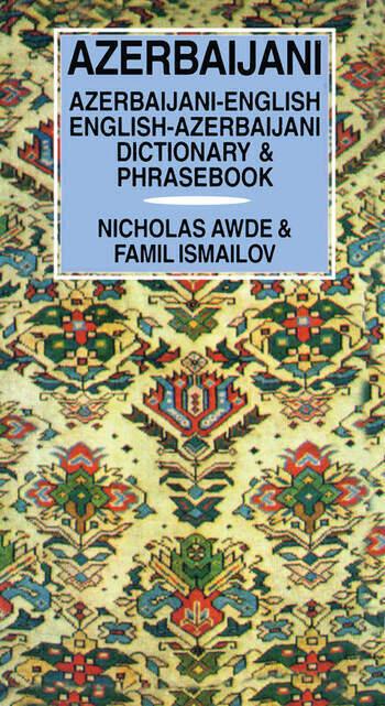 Azerbaijani Dictionary and Phrasebook book cover