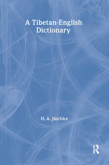 Tibetan-English Dictionary book cover