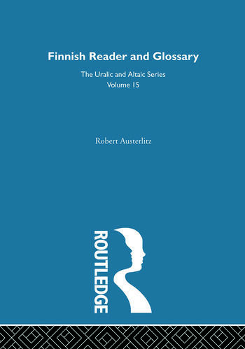 Finnish Reader and Glossary book cover
