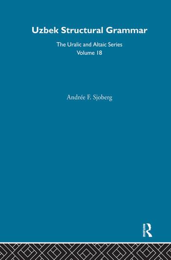 Uzbek Structural Grammar book cover