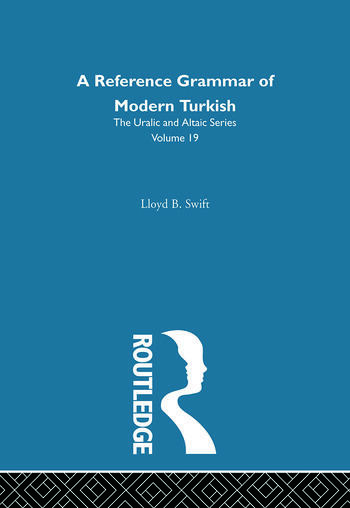 A Reference Grammar of Modern Turkish book cover