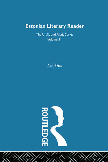 Estonian Literary Reader book cover
