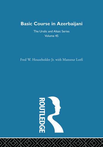 Basic Course in Azerbaijani book cover