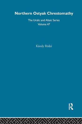 Northern Ostyak Chrestomathy book cover