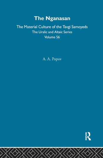 The Nganasan book cover